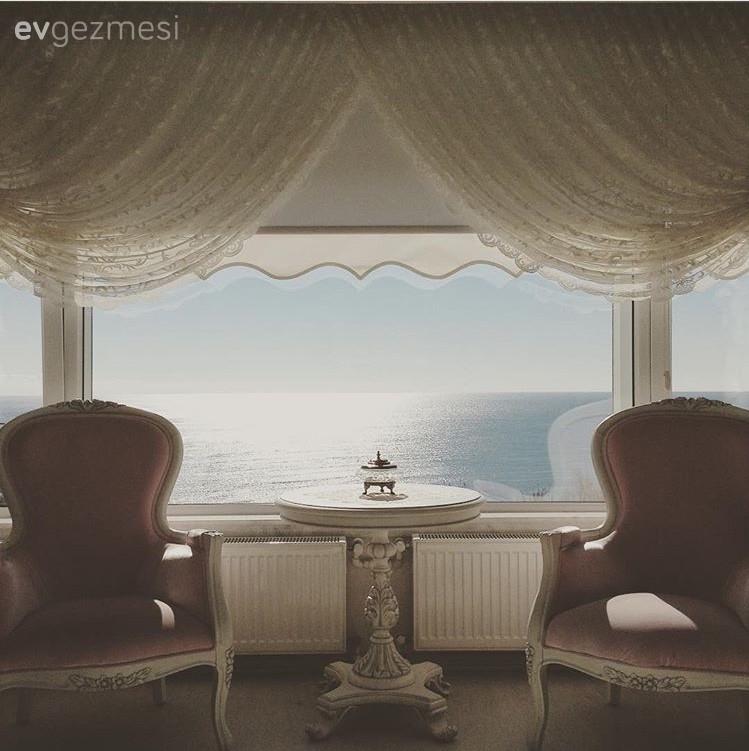 Antalya'dan dekoru kadar, manzarası da harika olan bir zarif ev..