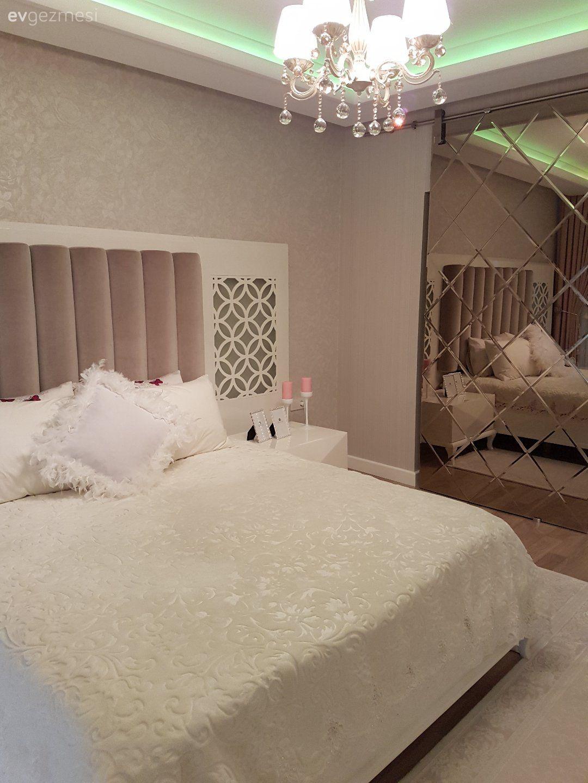 Küçük yatak odalarını rahatlatacak püf noktalar