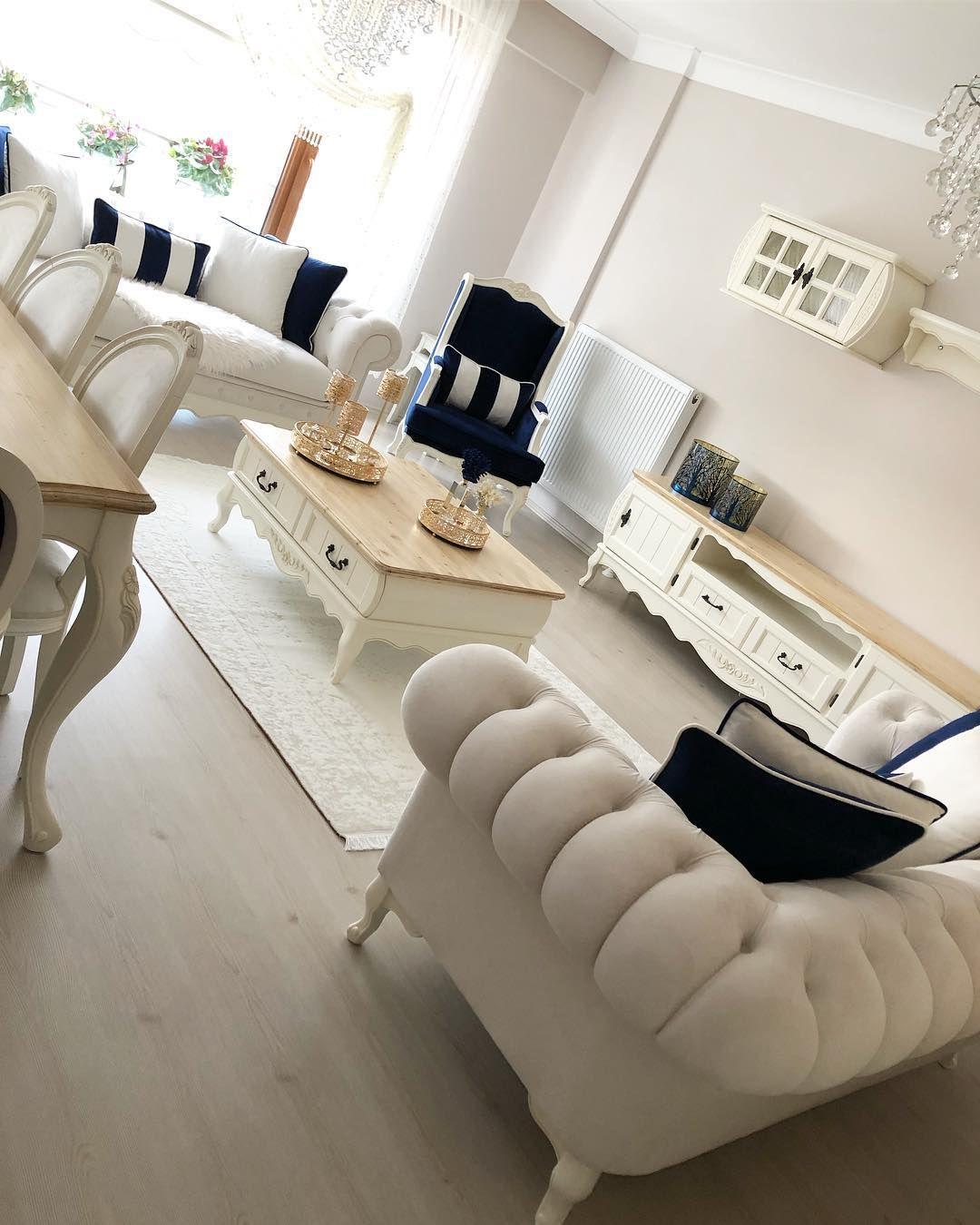 Beyaz Ve Lacivert Dekorasyon Modelleri Ve Fikirleri Ev Gezmesi