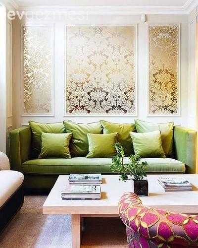Harika fikir: Çerçevelenmiş duvar kağıtları