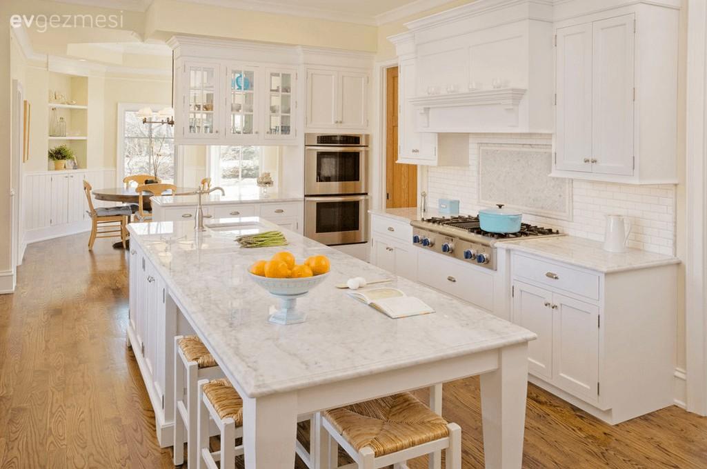 Mutfak adası nasıl tasarlanır? Farklı kullanıma örnek 14 mutfak adası.