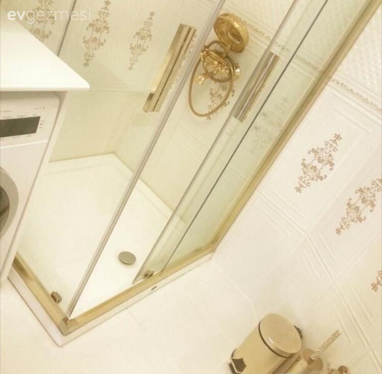 Zeynep hanımın yeni evinin naturel ve şık mutfak, banyosu..
