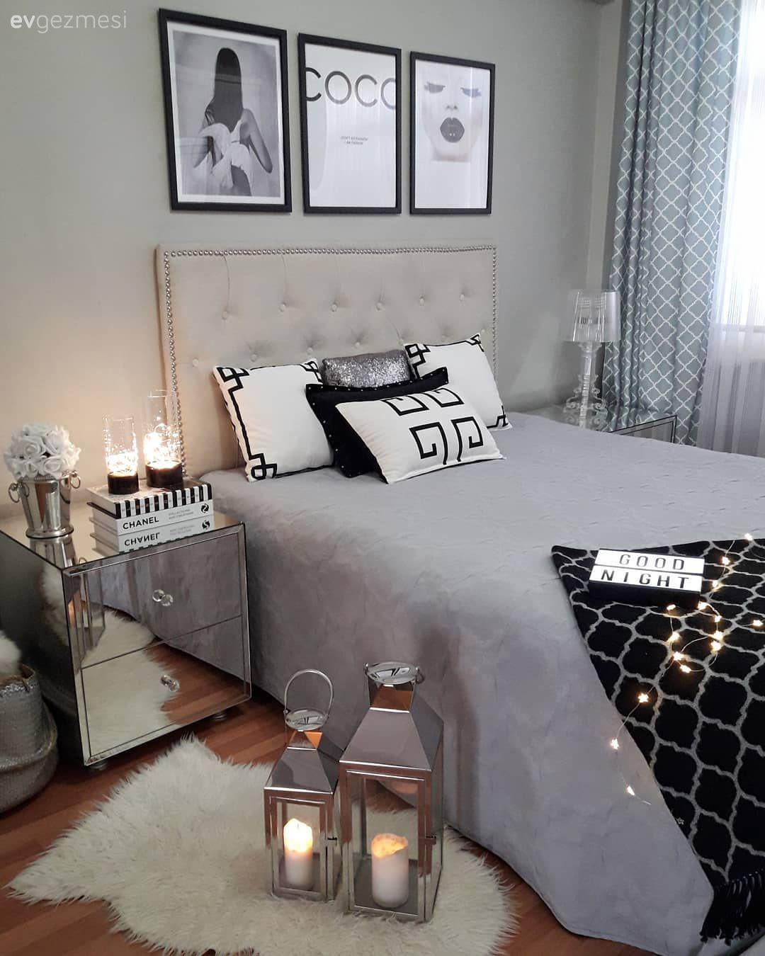 Kaliteli Uyku için Yatak Odası Düzenlemeleri