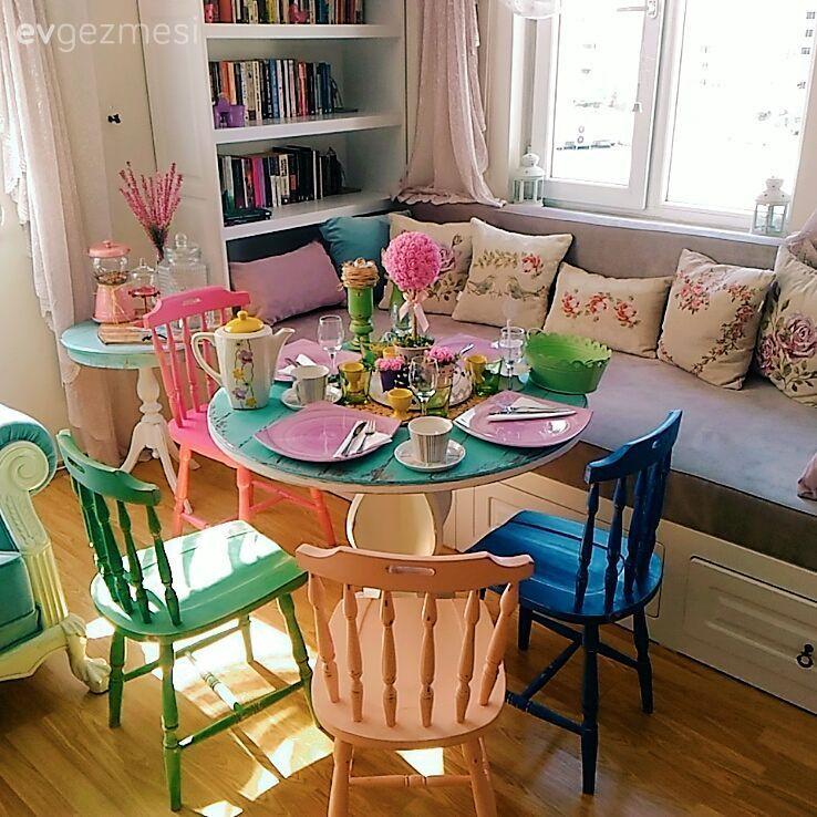 Yenilediğim Masa Sandalye Takımı 1 Ev Gezmesi