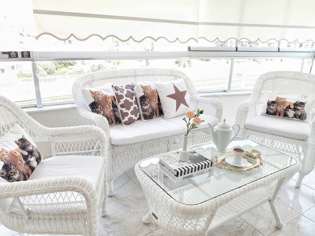 Tam Keyif Yapmalik Balkon Aydinlik Ve Ferah Mutfak Seher