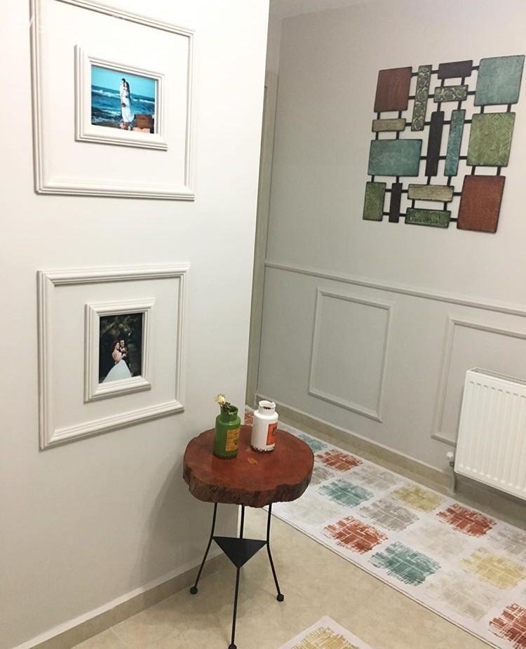 Sıcak renklerde, stil sahibi ve şık.. Seçil hanımın keyifli evi..