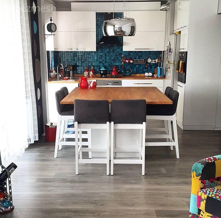 Modern Stilde Dekore Edilmiş Mutfaklar: Öneriler, Fikirler