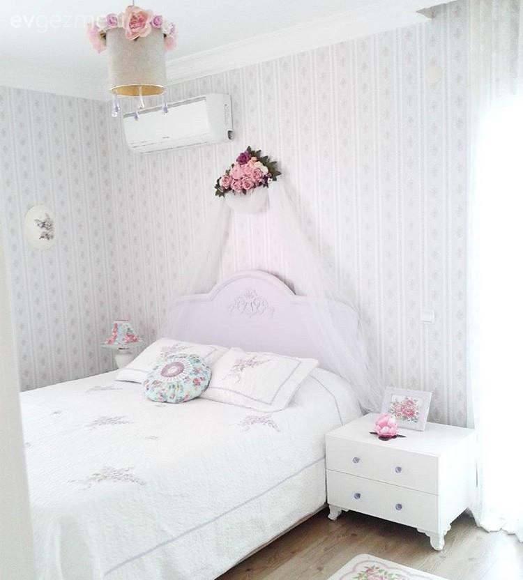 Filiz Hanımın Tamamı Kendi Emeği Harika Yatak Odası Dönüşümü Ev