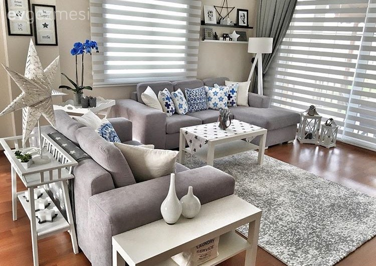 derya han m n modern stilde uyumlu ve zevkli evi ev gezmesi. Black Bedroom Furniture Sets. Home Design Ideas