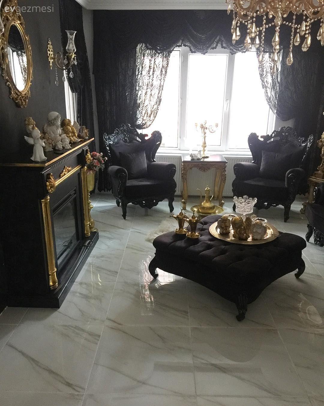 Ev dekorasyonu için altın öneriler