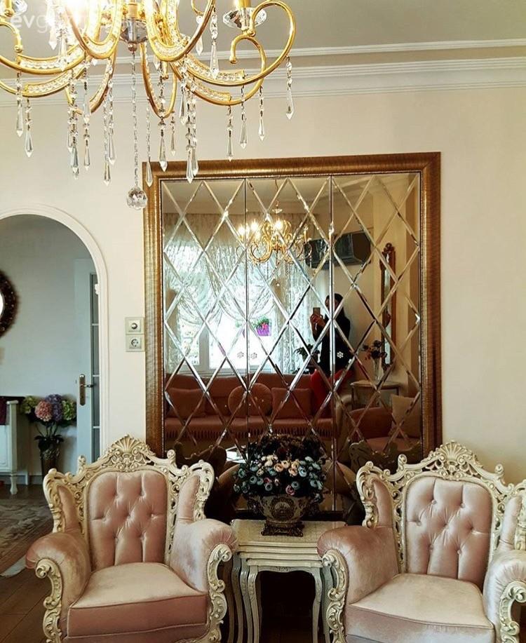 Yumuşak renkleri, klasik stili ile göz alıcı ve zarif bir ev..