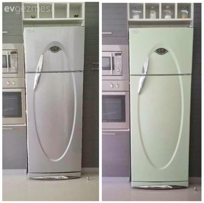 Sina Hanımın Boyadığı Bulaşık Makinesi Ve Buzdolabı Ev Gezmesi