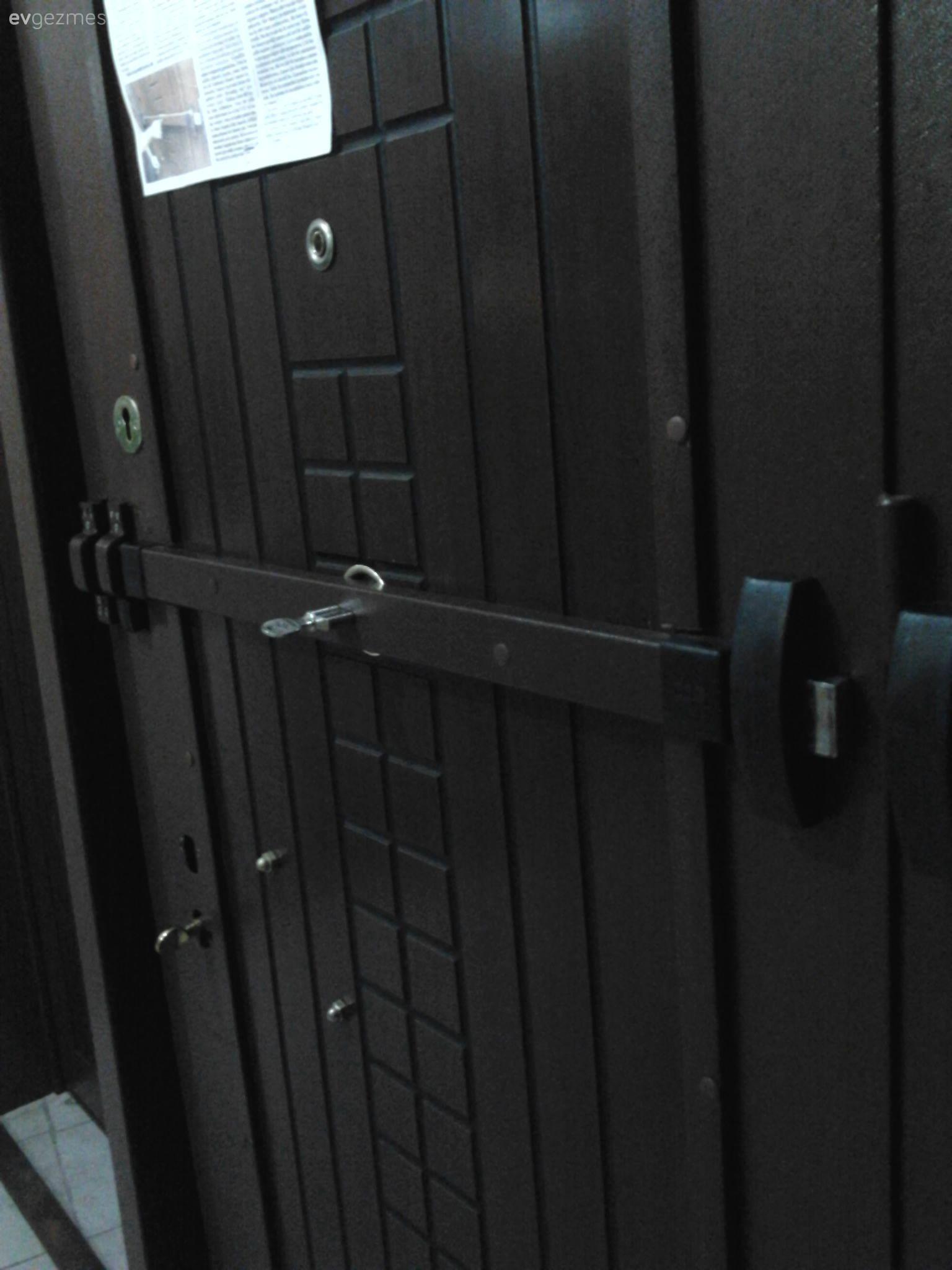 Hırsıza korumalı çelik kapı önerisi