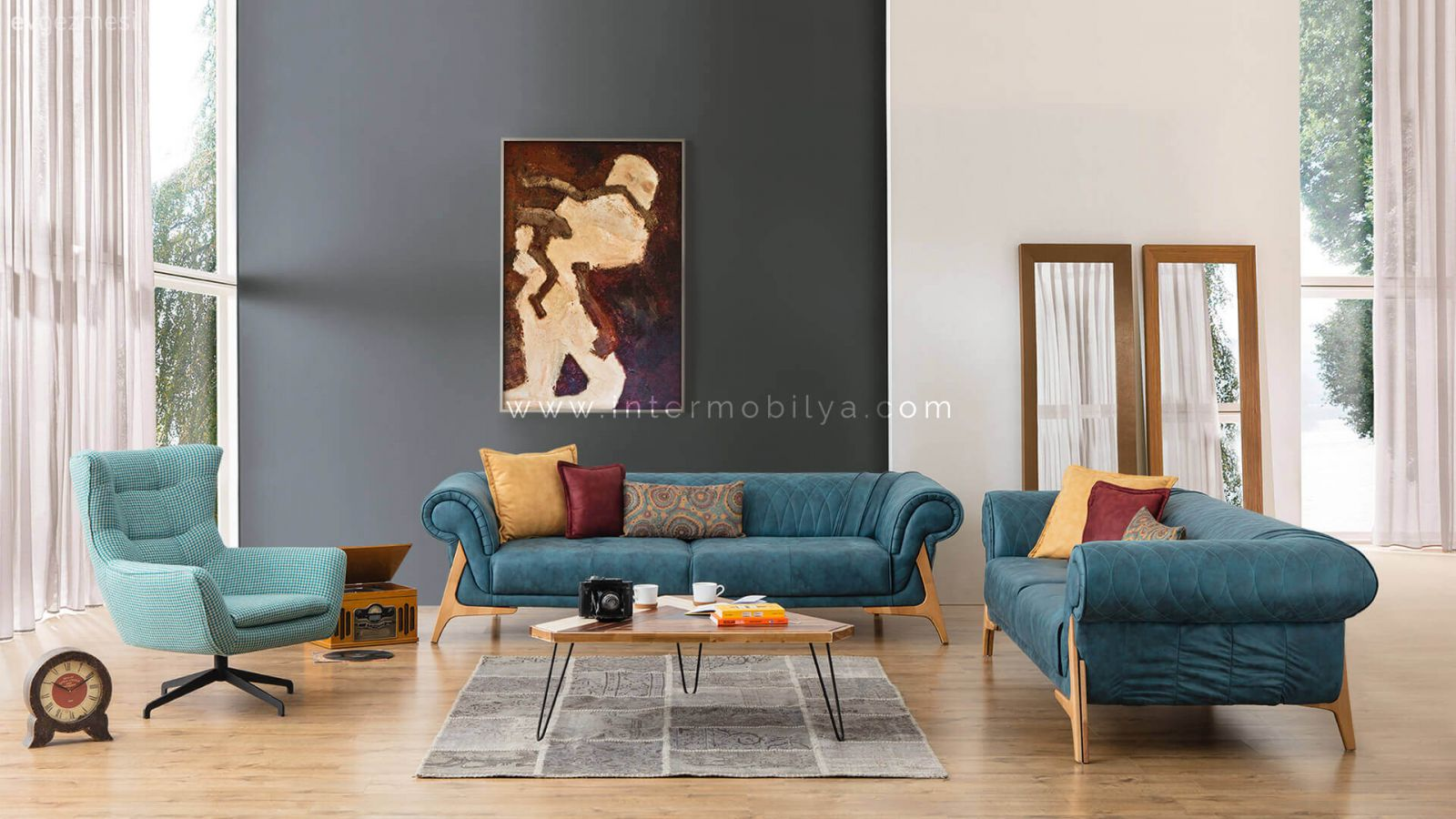 Related pictures gri tasar m 3d duvar kaplama rnekleri yaz s i in lk - Rainbow Renkli Koltuk Tak M Nter Mobilya