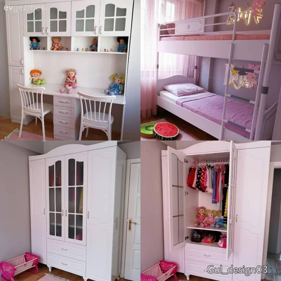 Çocuk Odası çalışma Masası Ve Ahşap Mobilyalar: Ev Dekorasyonu, Salon, Mutfak Ve Banyo Fikirleri