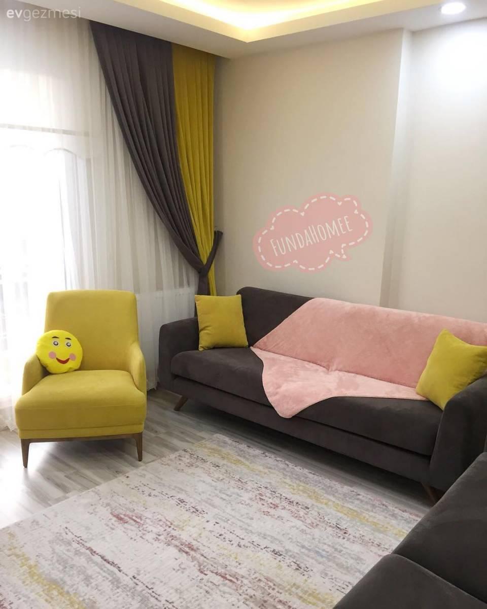Modern tasar ml k rm z renkli mutfak dekorasyonu modeli - T M Oturma Odas Foto Raflar