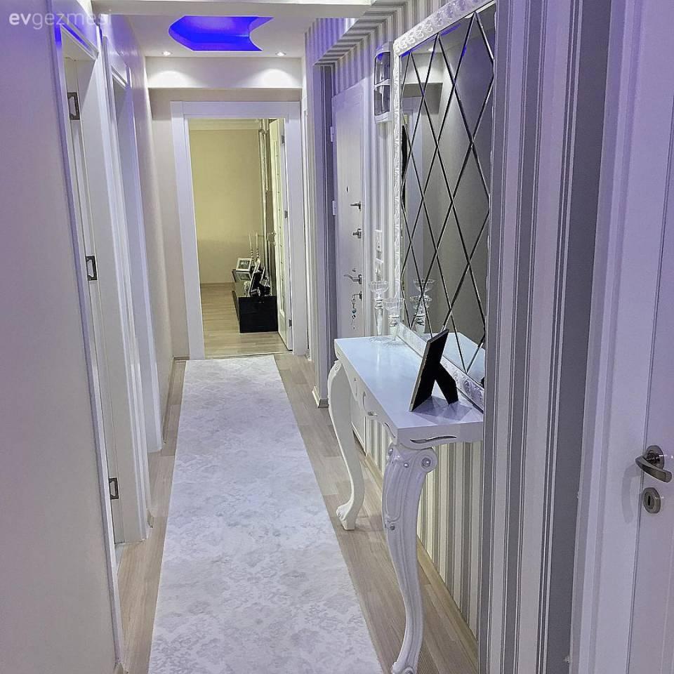 Modern tasar ml k rm z renkli mutfak dekorasyonu modeli - G Z Al C Renkler K Detaylar Sevda Han M N Evi